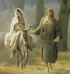 Mary Joseph Fled Egypt Mormon