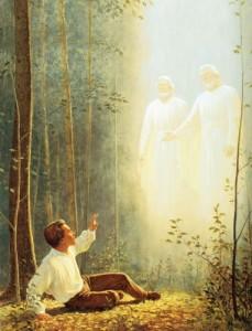 Vision del Padre y el Hijo Profeta  José Smith Mormon