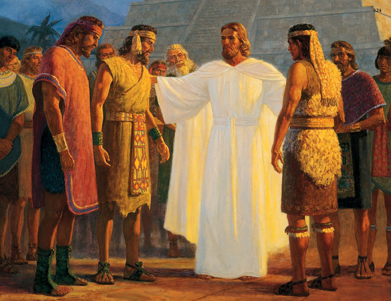 Christ-visits-Book-of-Mormon-peoples