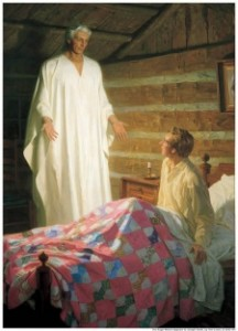 Moroni visita a José Smith-mormones