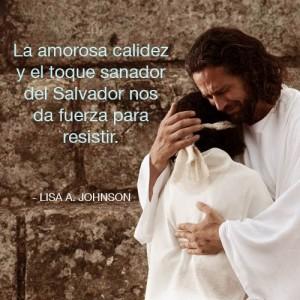 calidez toque sanador de Jesús