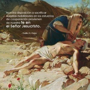 El Buen Samaritano-mormones