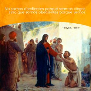 Jesús sana - Obediencia